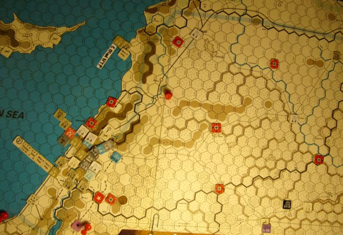 Jun II 41 Allied end of the Combat Phase dispositons: Palestine, the Vichy French Levant, Iraq
