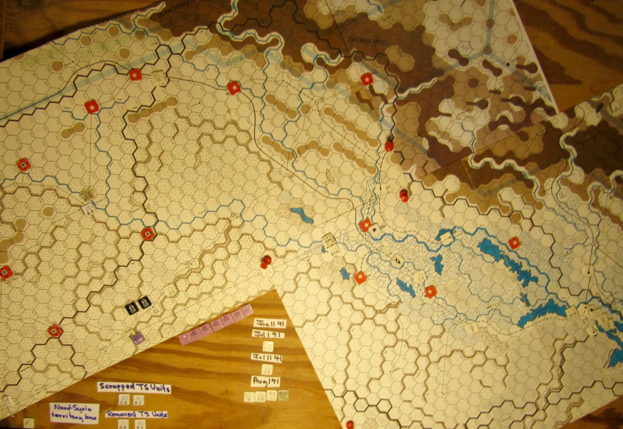 Jun II 41 Axis end of Initial Phase: Iraq and Vichy French Levant