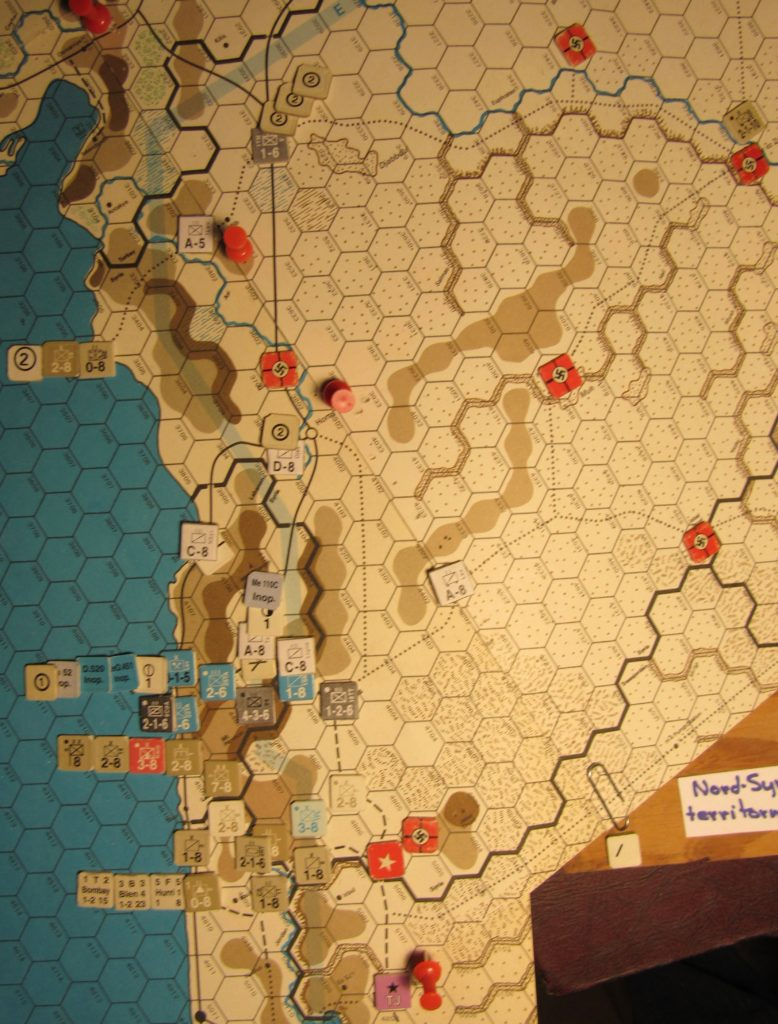 Jun II 41 Axis EOT dispositions: Vichy French Levant and Palestine