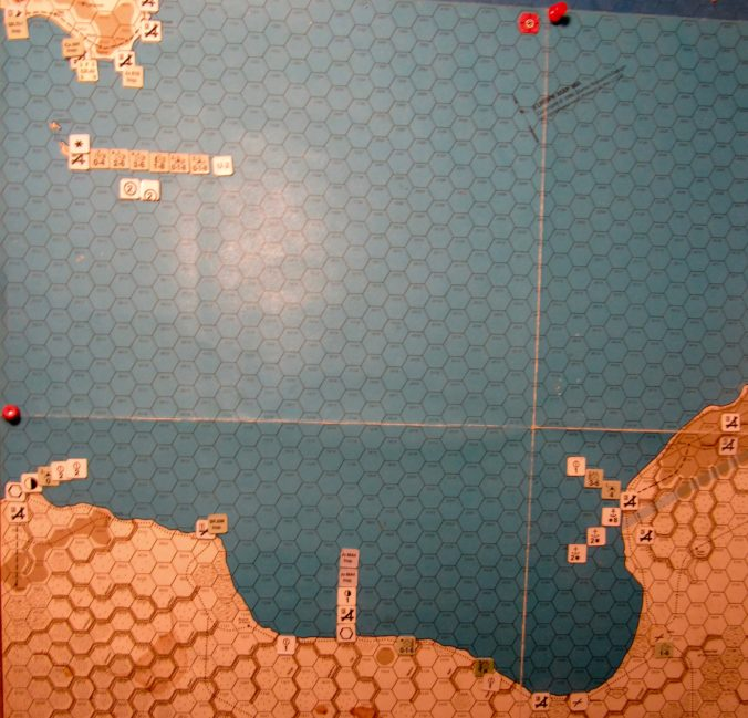 Jul I 41 Allied EOT dispositions: Gulf of Sidra.