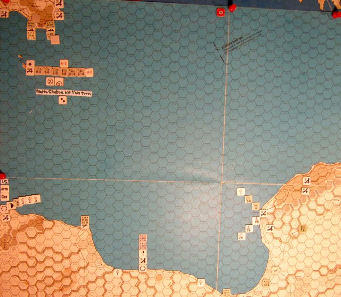 Jul I 41 Axis end of the Movement Phase dispositions: Central Mediterranean.