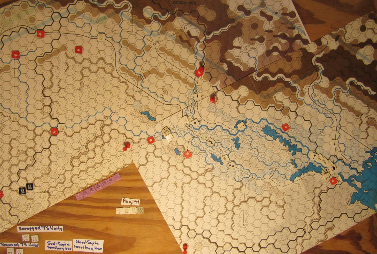 Jul II 41 Allied end of the I. Phase dispositions: Iraq