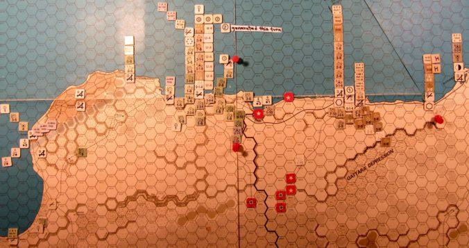 Jul II 41 Allied EOT dispositions in the Western Desert