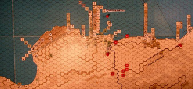 Jul II 41 Allied EOT dispositions: Western Desert