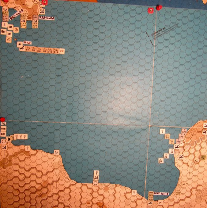 Jul II 41 Allied end of the Initial Phase dispositions