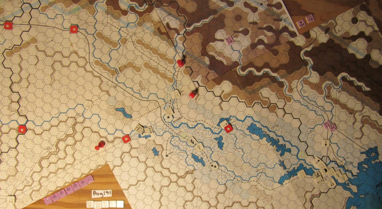 Jul II 41 Axis EOT dispositions: Iraq
