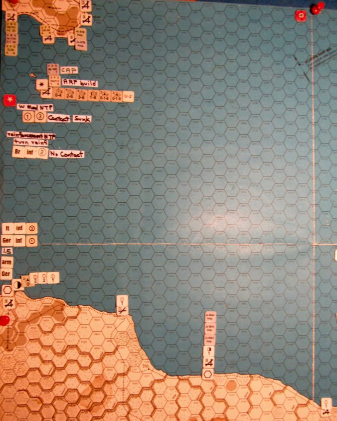 Aug I 41 Allied naval movement step action details: the Malta convoys