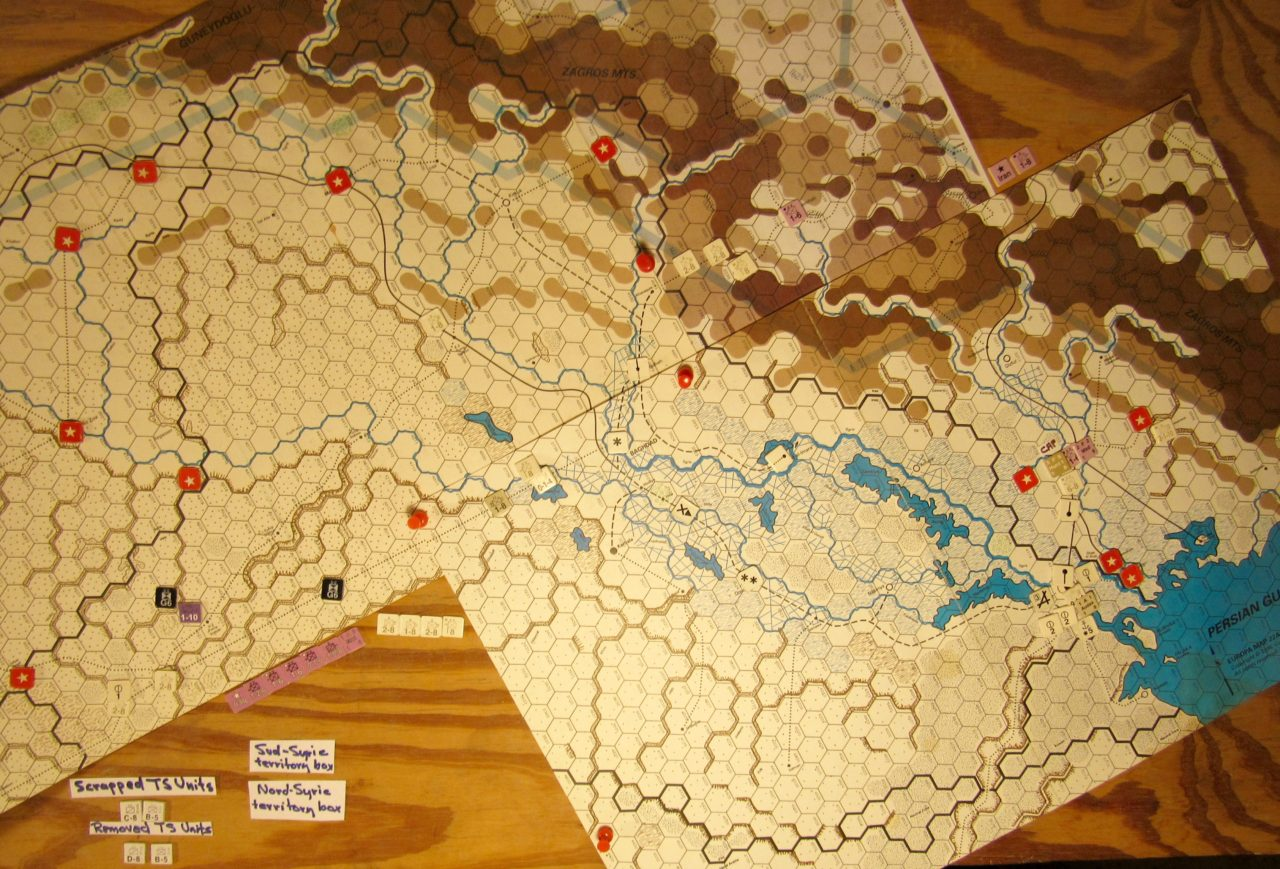 Aug II 41 Allied end of the Movement Phase in Iraq