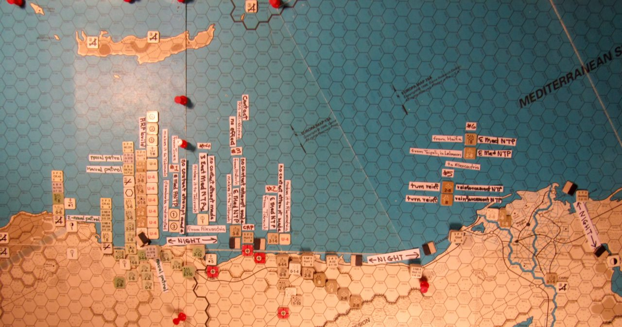 Aug II 41 Allied naval movement step