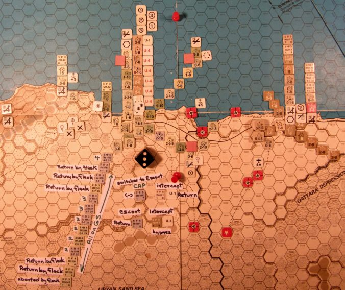 Aug II 41 Axis Combat Phase action details: the attack on Tobruch