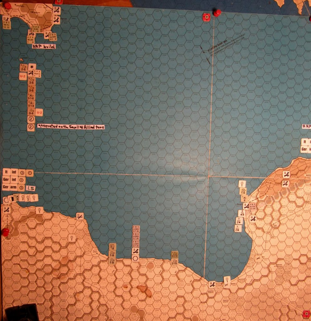 Sep II 41 Axis end of the Initial Phase dispositions in Lybia