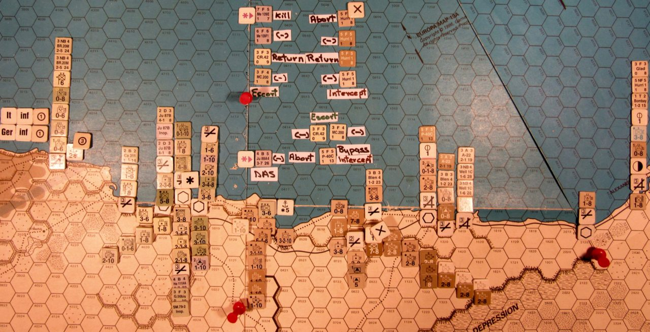 Oct II 41 Allied C. Phase: The air battle over Porto Bardiya