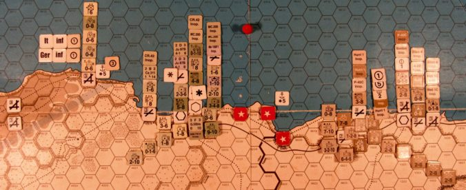 Oct II 41 Allied EOT dispositions: Western Desert
