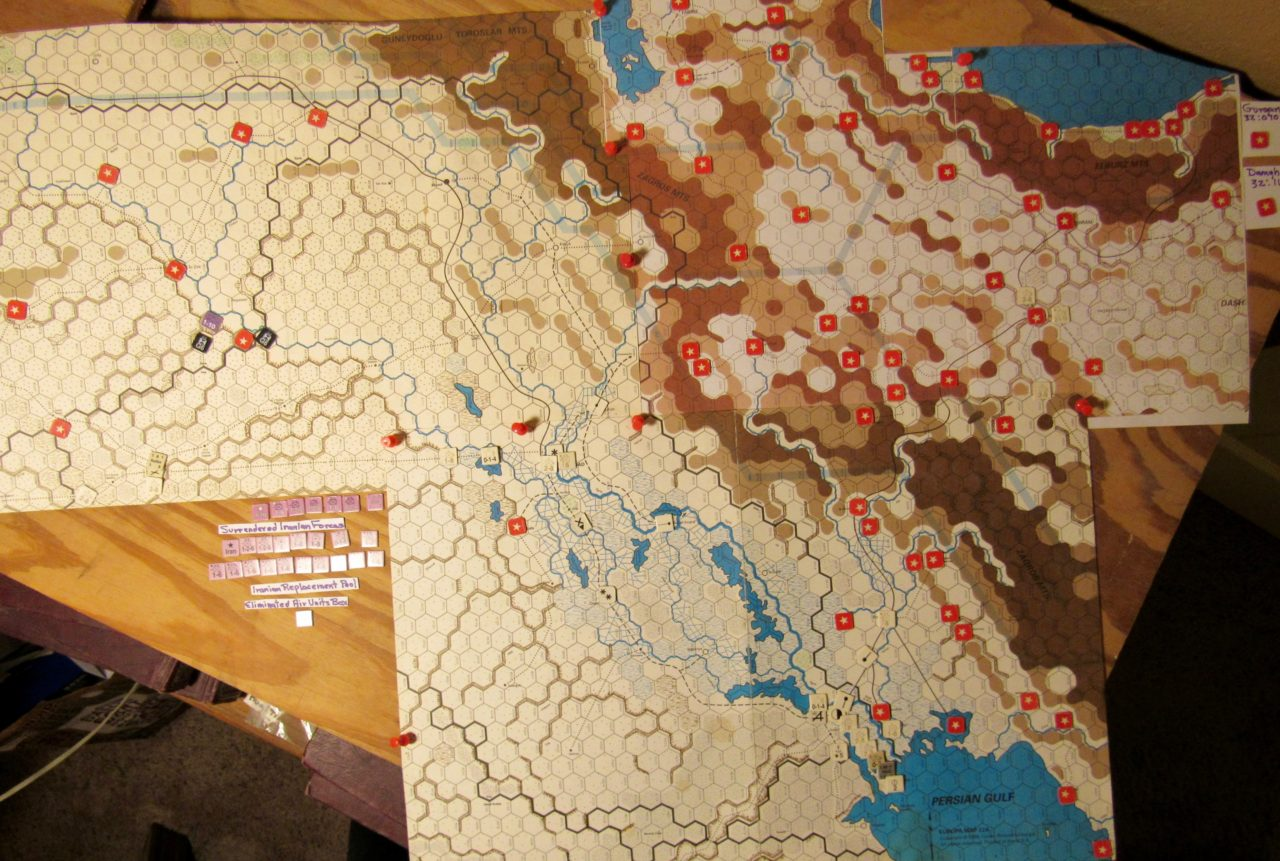 Oct II 41 Axis I. Phase/M. Phase/EOT dispositions in Iraq and Iran