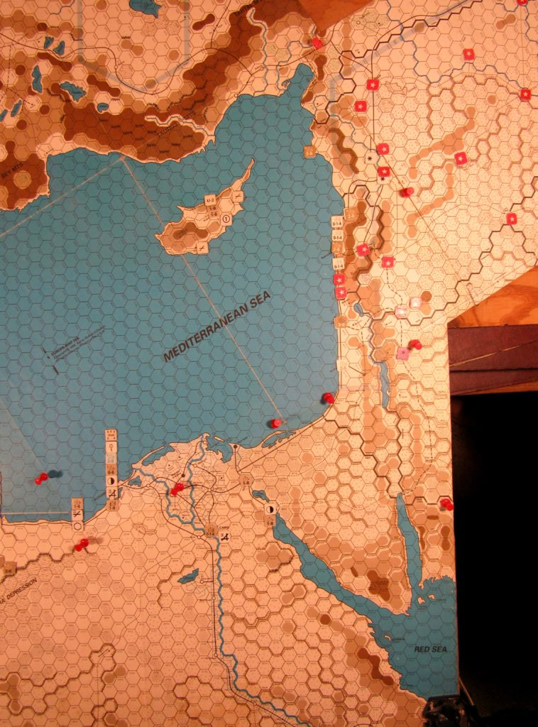 Oct II 41 Axis end of the EOT dispositions: Egypt and Levante