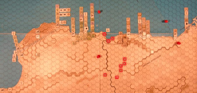 Oct II 41 Axis EOT dispositions, Western Desert