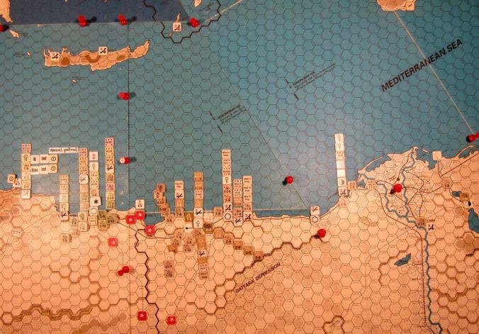 Nov I 41 Allied EOT dispositions, Estern Desert and Egypt