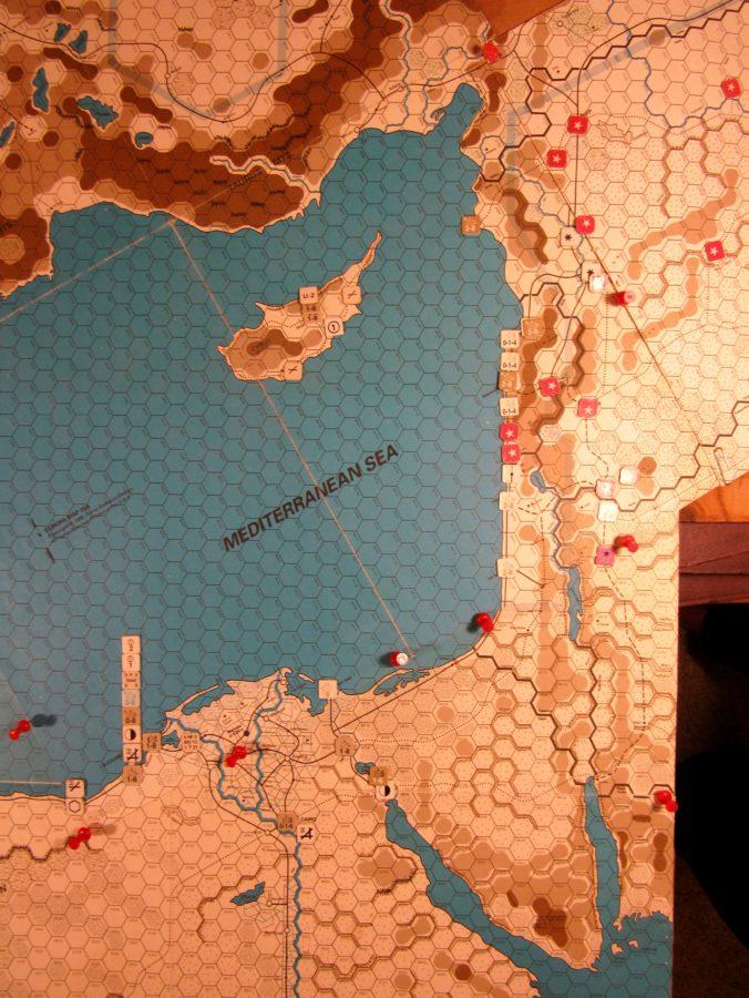 Nov I 41 Allied EOT dispositions, Estern Mediterranean
