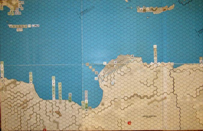 Mar II 41 Axis turn at-start set-up