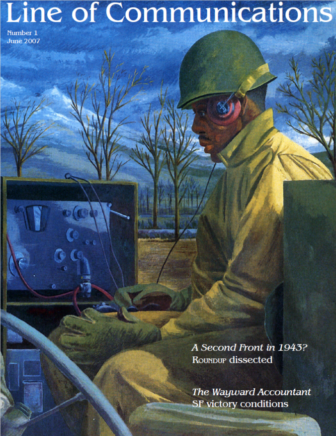 Line of Communications - Cover of Issue #1