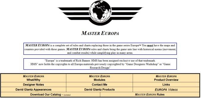 Screenshot Master Europa