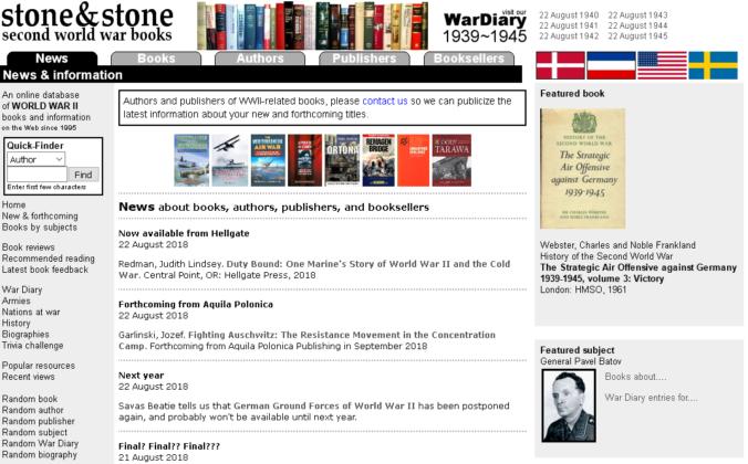 Screenshot of stonebooks.com