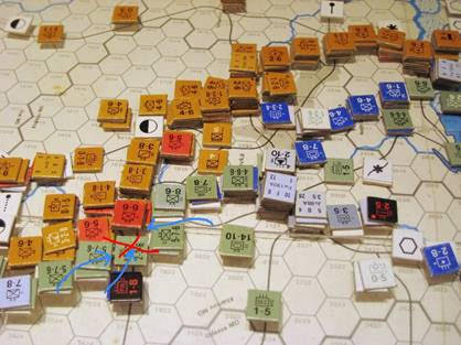 Counter Attack South of Kharkov