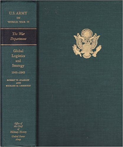 "Cover of the official ""US Army in World War II"""